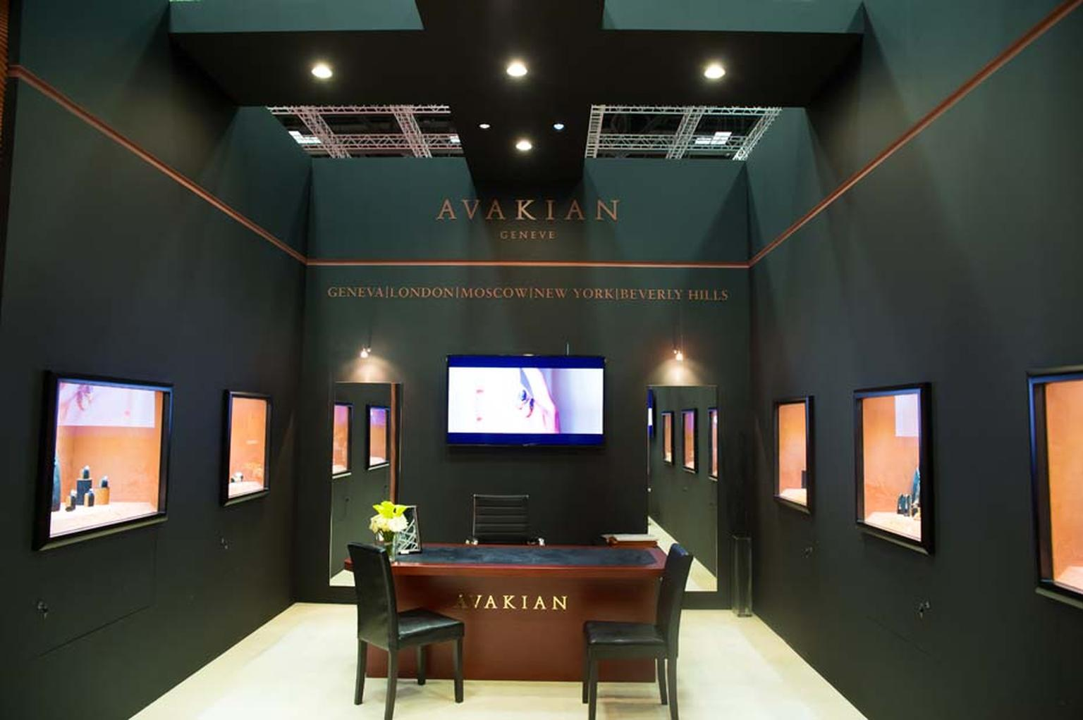 International Jewellery house Avakian will be showing a selection of its high jewellery, influenced by colourful stones and bold designs, at the DJWE.