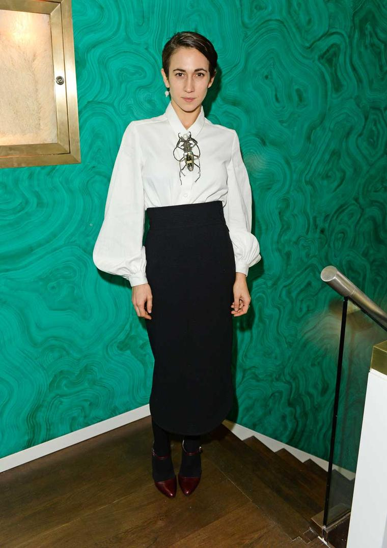 Jewellery designer Delfina Delettrez pictured at the opening of her new London boutique.