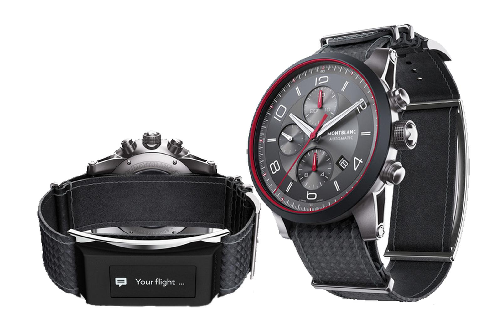 Montblanc Timewalker Urban Speed Chronograph e-Strap watch