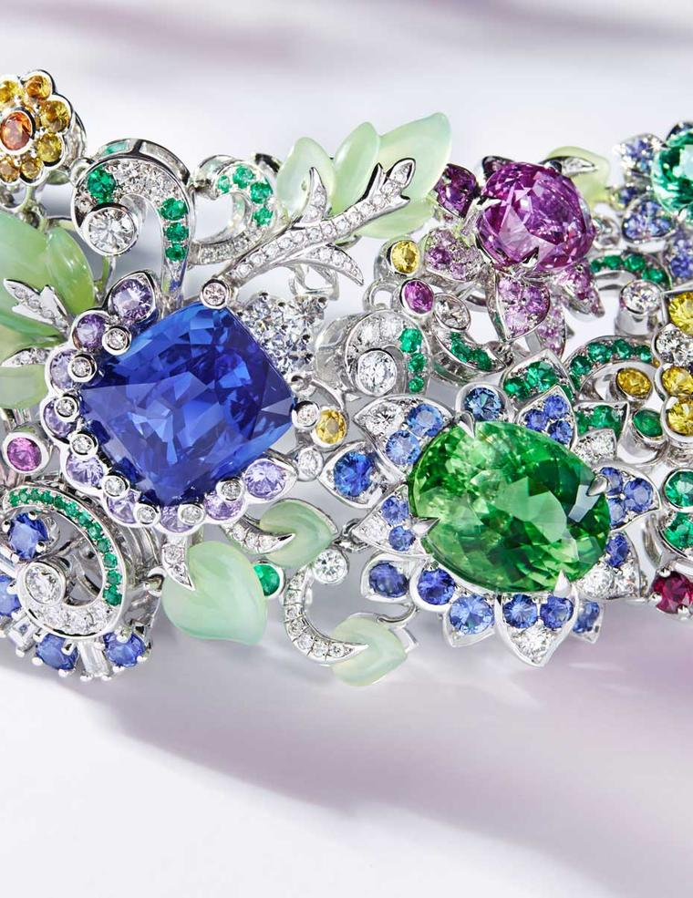 Fabergé jewellery video: coloured gemstones shine out in the new Secret Garden collection