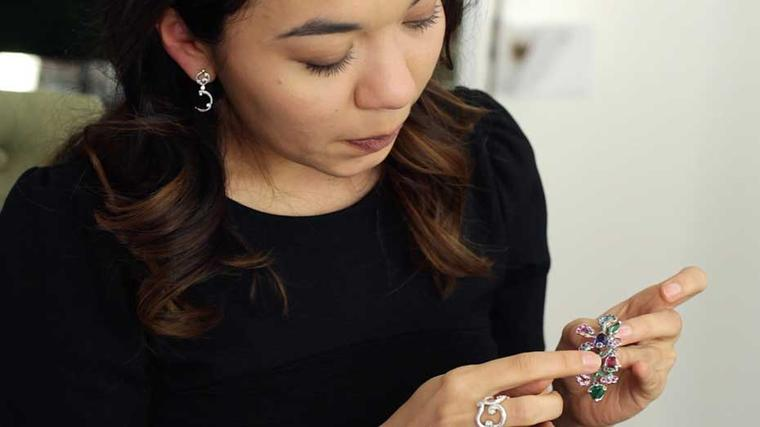 Fabergé design director Natalia Shugaeva describes some of the jewels from the new collection, which took her highly skilled team more than a year to create.