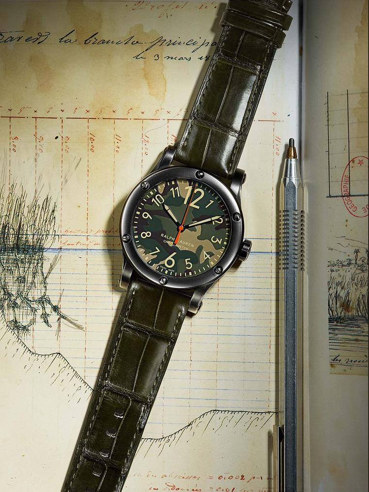 Ralph Lauren Safari watches: handsome and rugged travel companions for 2015