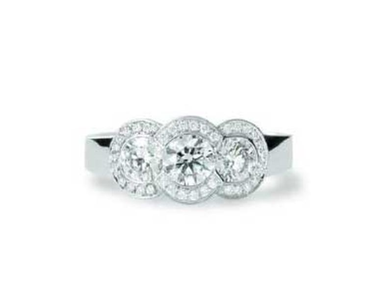 Three stone engagement rings: when one gem just isn't enough