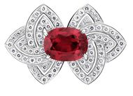 African rubies fill the void left by Burmese rubies with their flashes of rich red
