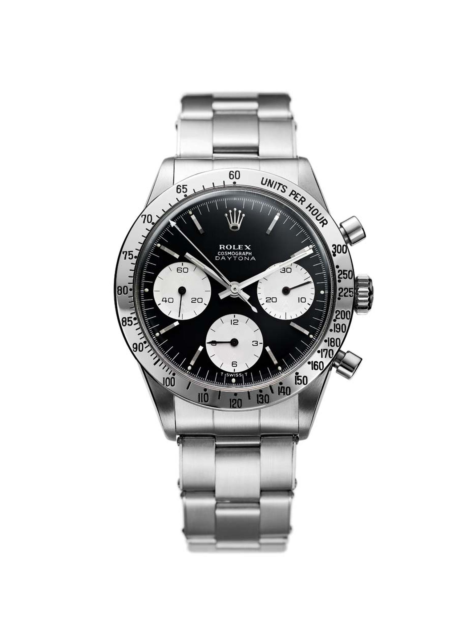 Rolex Cosmograph Daytona 1963 is, for many enthusiasts, the world's most iconic sports chronograph thanks to its bold design and impeccable performance.