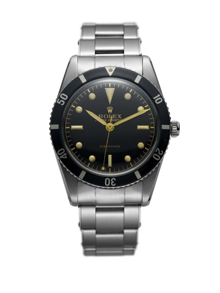 Rolex Submariner 1953 is the Swiss brand's iconic professional diver's watch, capable of plunging to depths of 100 metres.