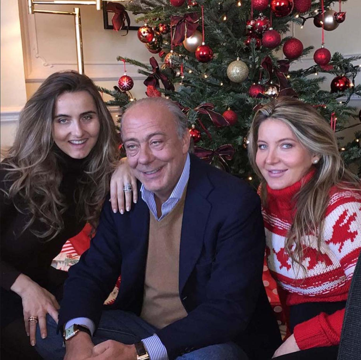 De GRISOGONO's Instagram account doesn't take itself too seriously and mixes stylish pictures of jewellery with candid shots, like this one of founder Fawaz Gruosi and his family at Christmas. Image: @degrisogono_official Instagram