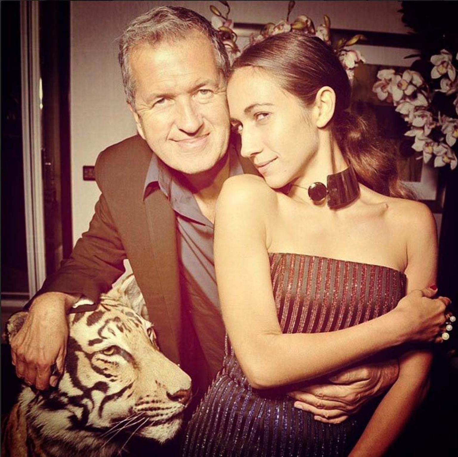 DelfinaDelettrez_Instagram_Delfina Delettrez with MarioTestino at Fashion spirit.jpg