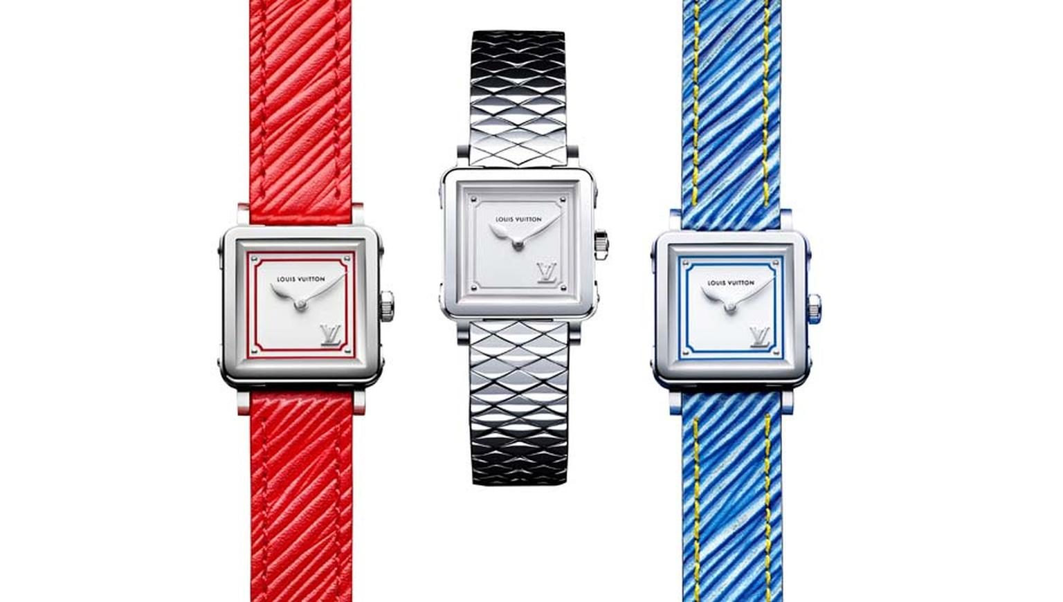 Louis Vuitton watches confirms its commitment to bringing the excitement of the catwalk to the wrist, by launching its boldest collection of ladies' watches to date.