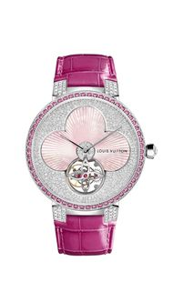 New Louis Vuitton watches for women: uniting couture and watchmaking