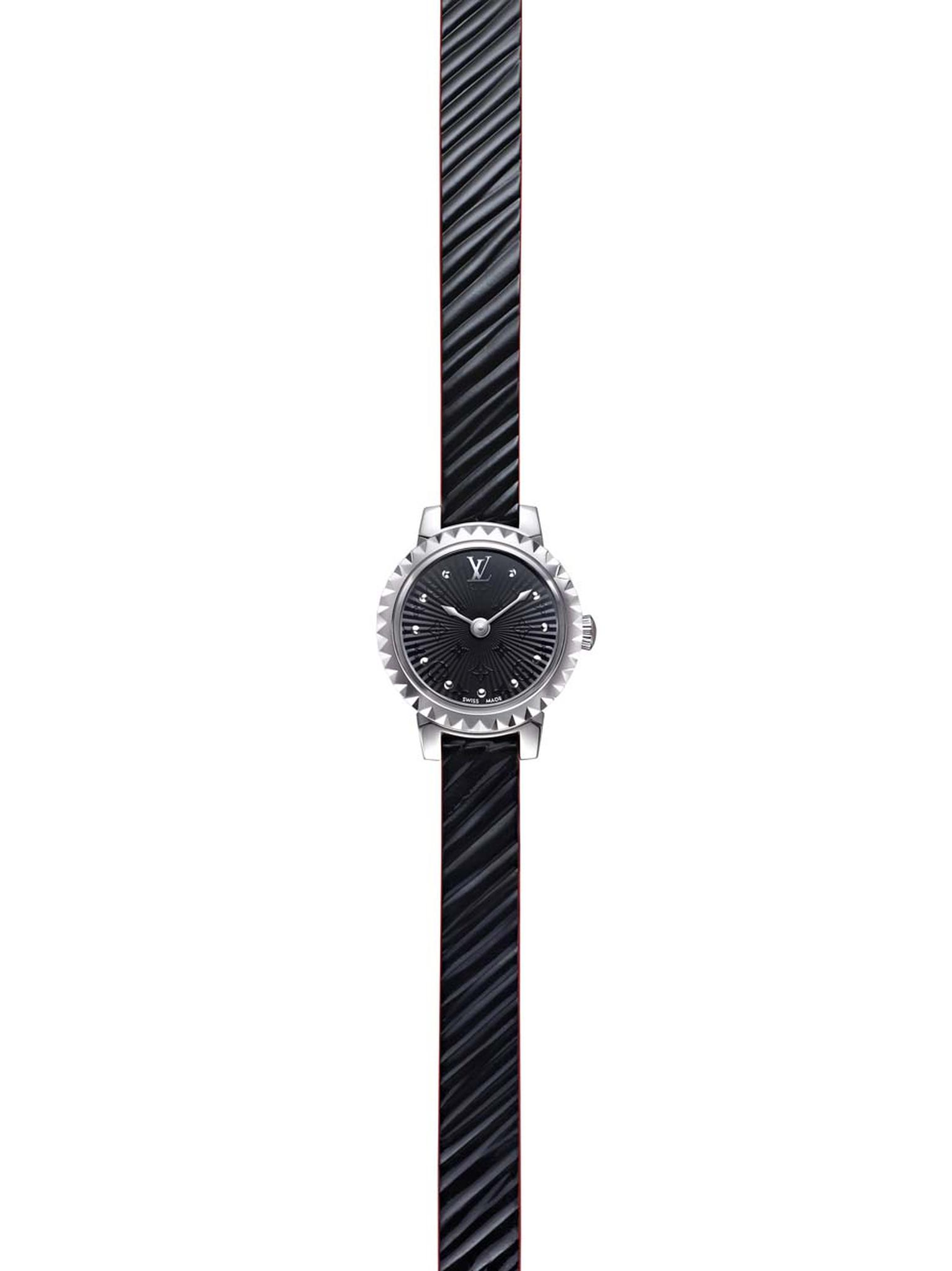 Louis Vuitton watches_Tambour Monogram Epi Noir.jpg