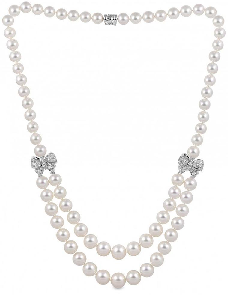 Pearl necklaces for your wedding day