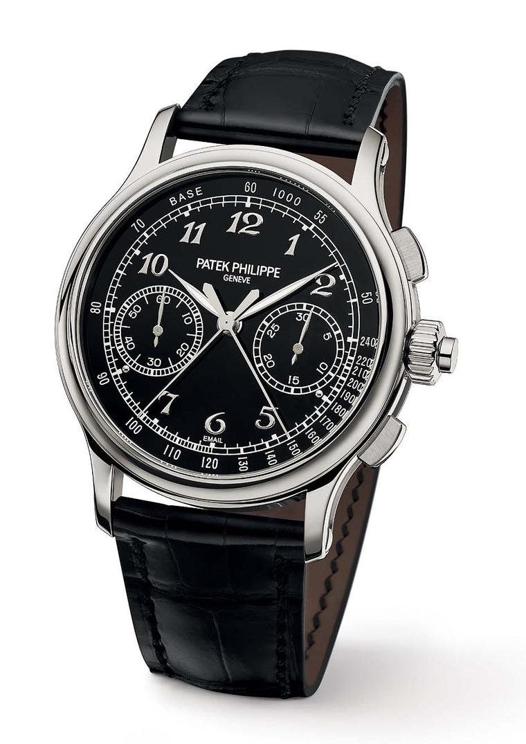 Patek Philippe watches Reference 5370 is a new thoroughbred in the brand's line-up of split-second chronographs.