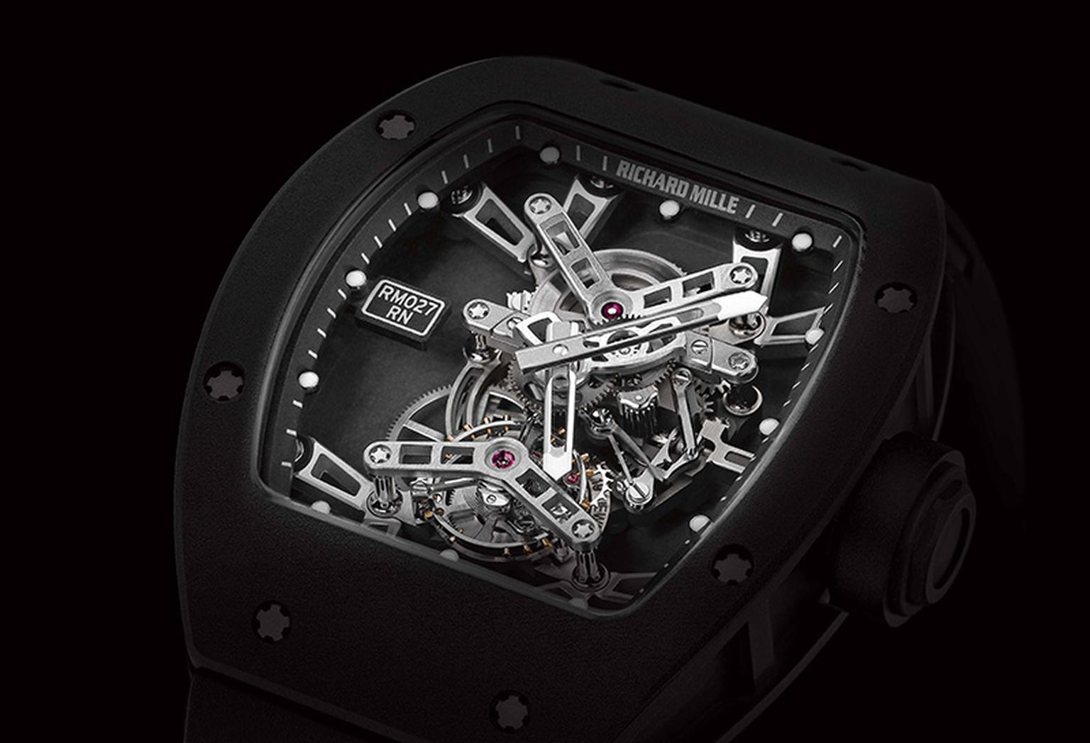 Rafael Nadal's Richard Mille watch