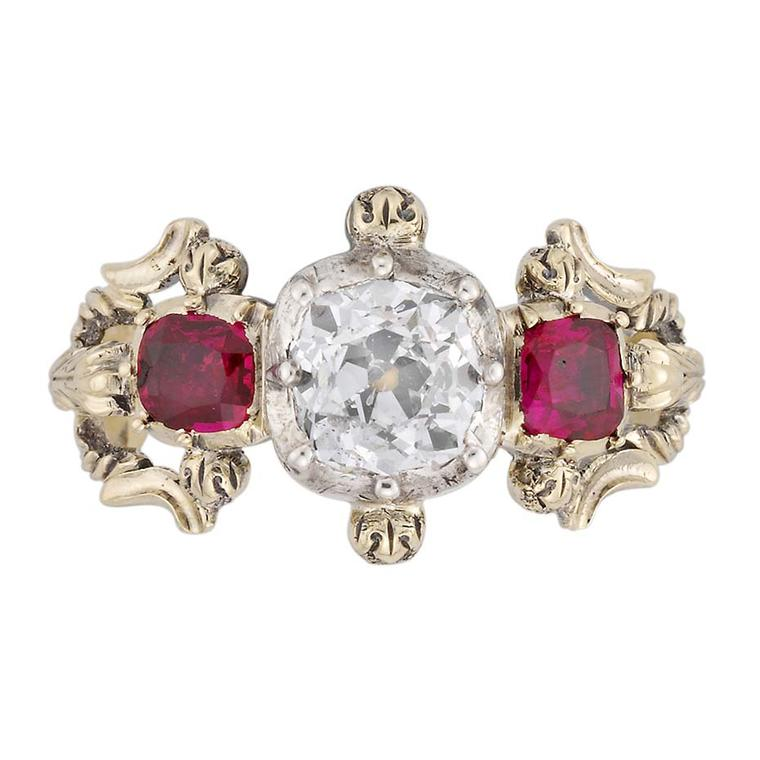 Victorian engagement rings: antique jewellery with true vintage appeal