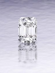 Sotheby's Magnificent Jewels emerald-cut diamond