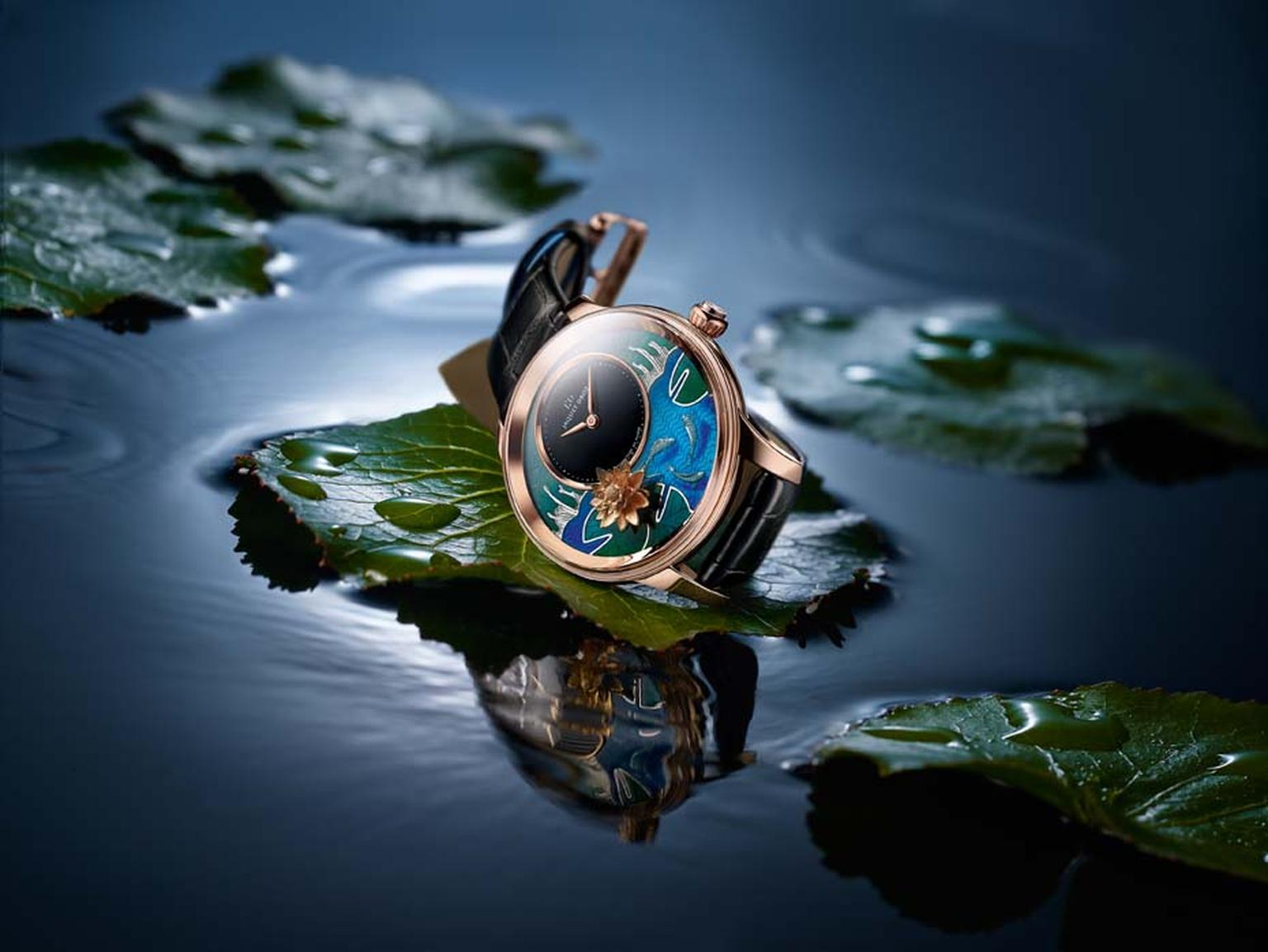 Butterfly and fish watches_Jaquet Droz_Petite Heure minute carps ambience.jpg