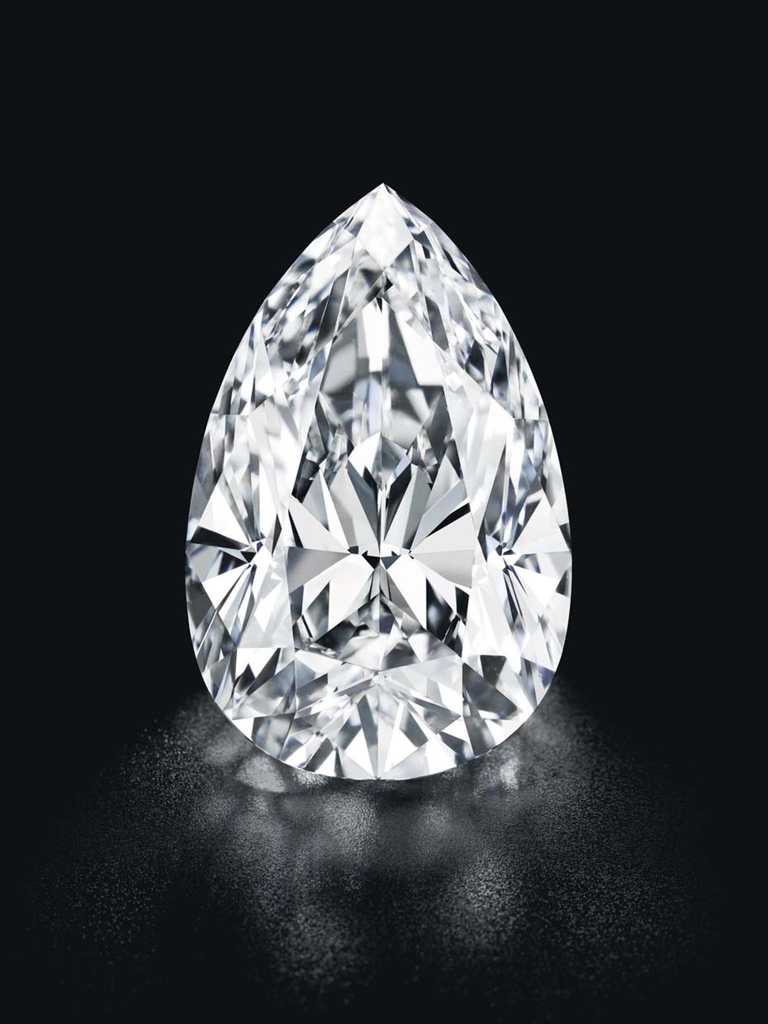 This 55.52ct pear-shaped D flawless diamond sold for $9.03 million at Christie's Geneva as part of its Magnificent Jewels Sale this week.
