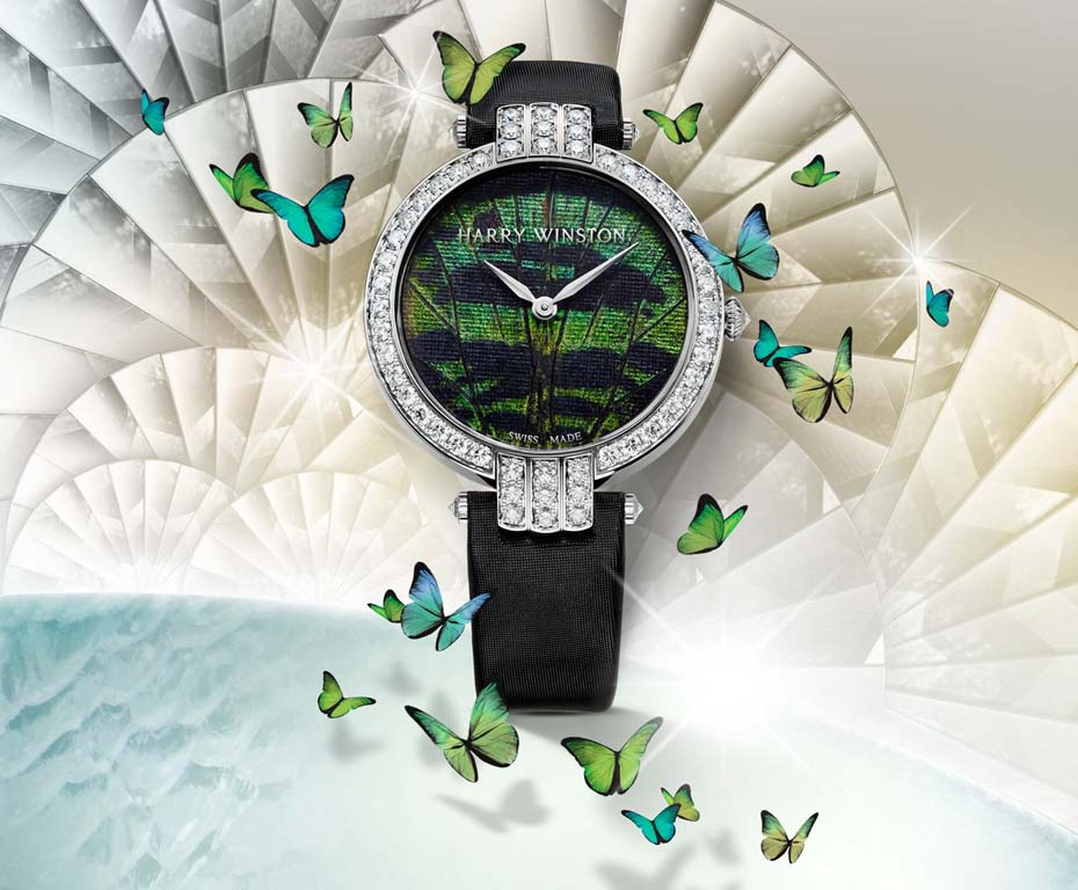 Harry Winston Premier Precious Butterfly watch