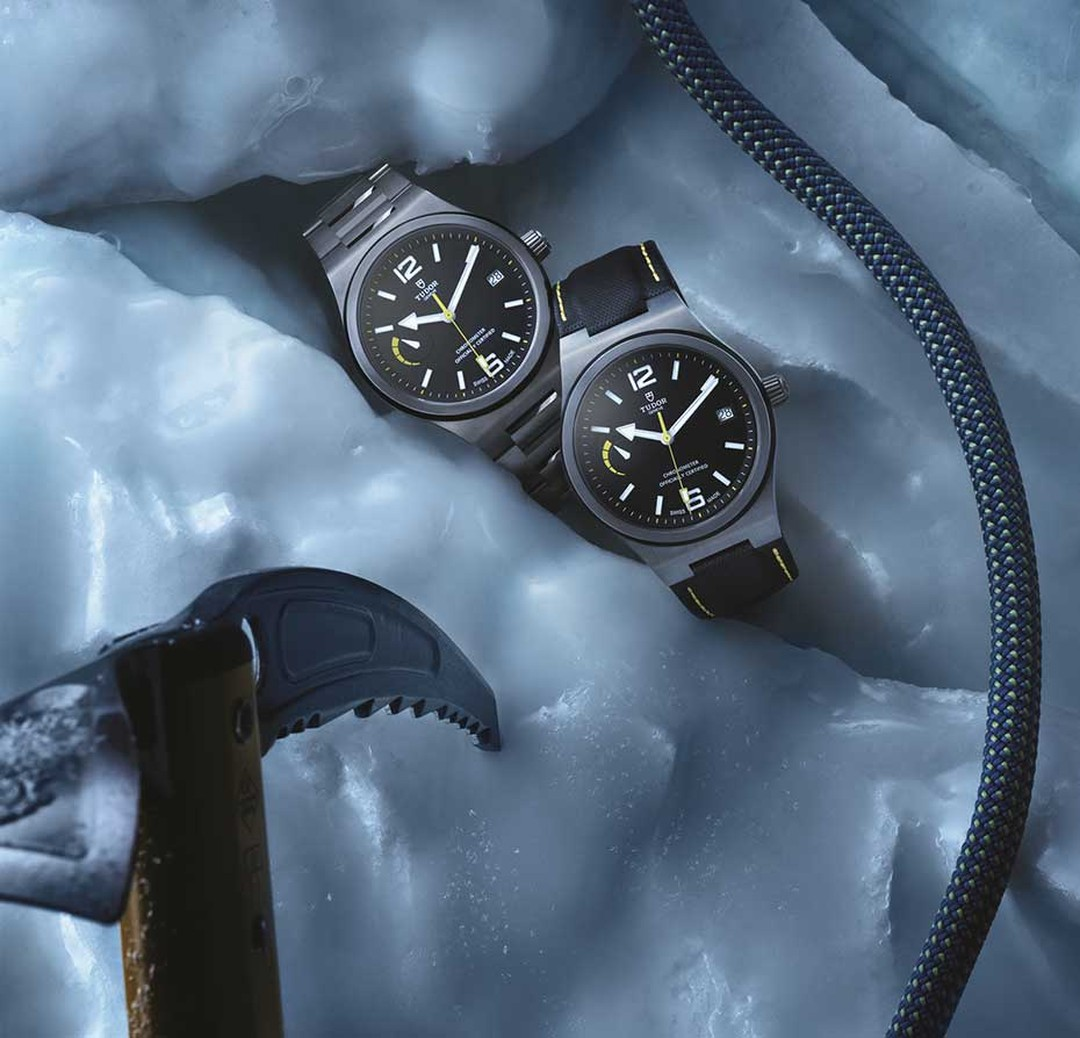 The new Tudor North Flag watch is designed for the modern-day adventurer and marks a milestone as being the first model to be fitted with Tudor's in-house movement. A generous 70-hour power reserve, water-resistance to 100 metres and a commanding presence