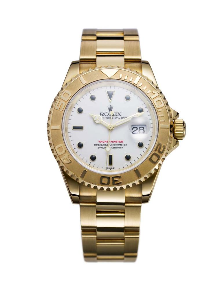 The first member of the Rolex Yacht-Master family, pictured here, was presented in 1992.