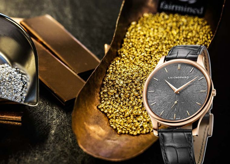 The new Chopard L.U.C XPS watch in Fairmined rose gold is made from ethically sourced gold, proving once again this year that luxury, sustainability and responsible mining practices are perfectly compatible partners.