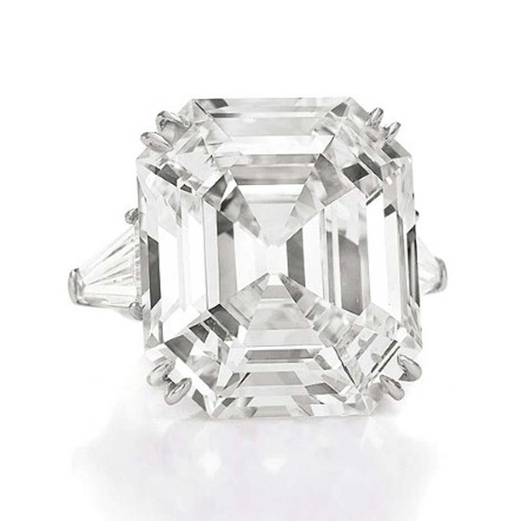 The 33.19ct Asscher cut Krupp diamond was named after its original owner Vera Krupp but is more commonly known as the Elizabeth Taylor diamond.