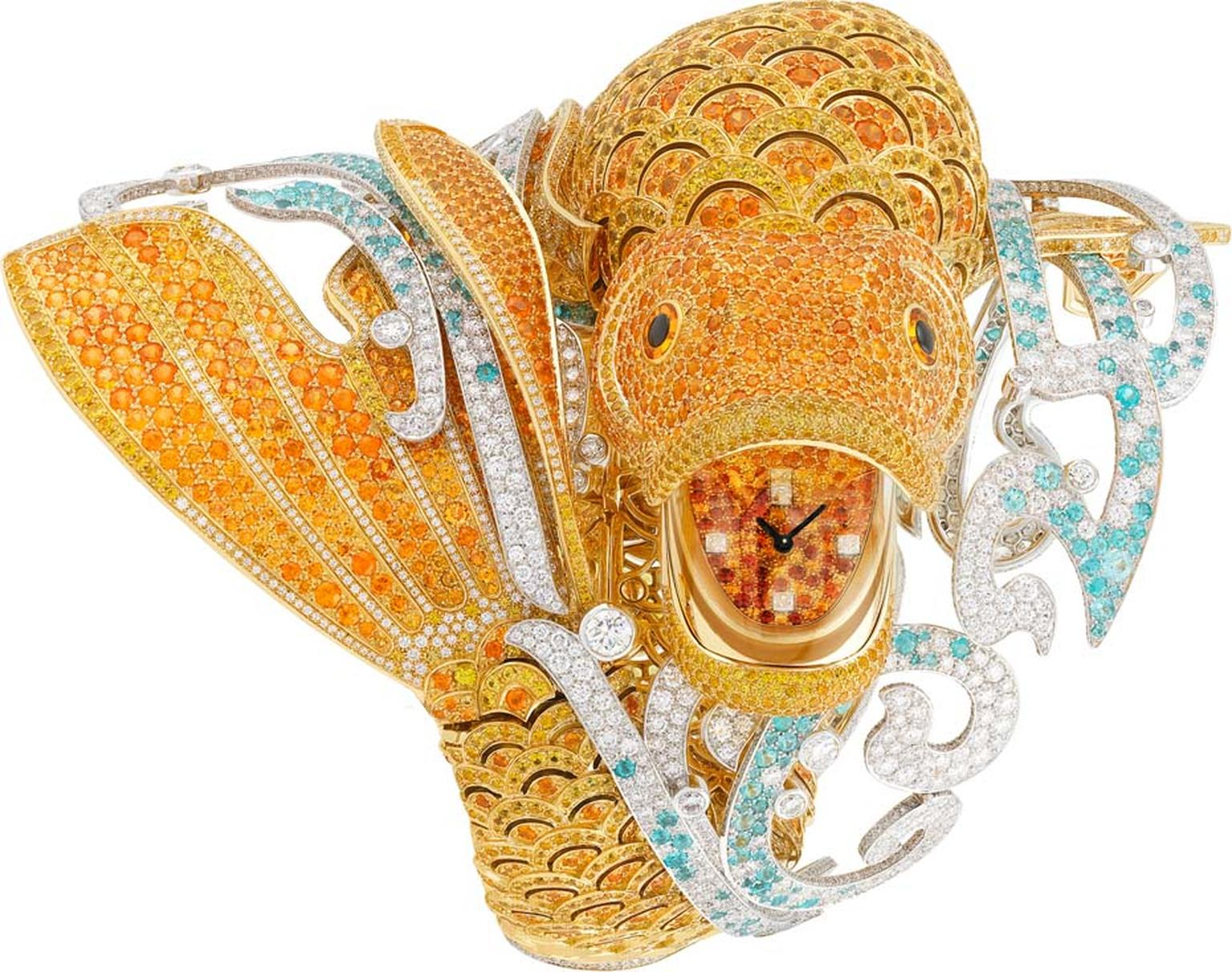 Van Cleef & Arpels Carpe Koi secret watch