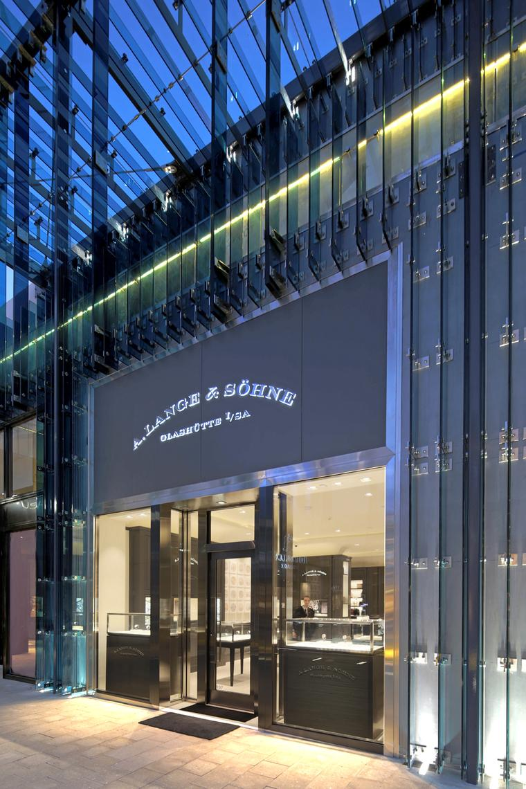 German watchmaker A Lange & Sohne has opened a store in the revamped Miami Design District.