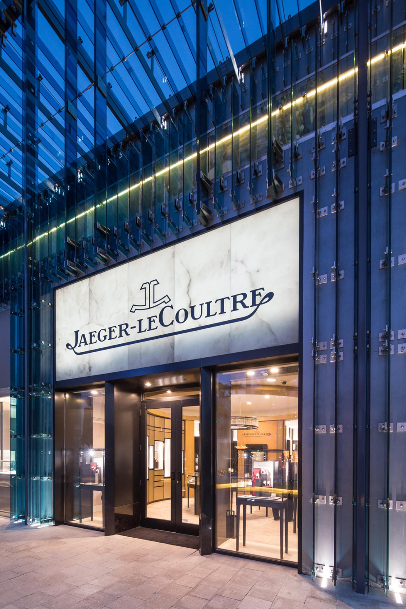 Jaeger-LeCoultre, a major player in watchmaking, also has a boutique located in the constantly evolving Miami Design District.