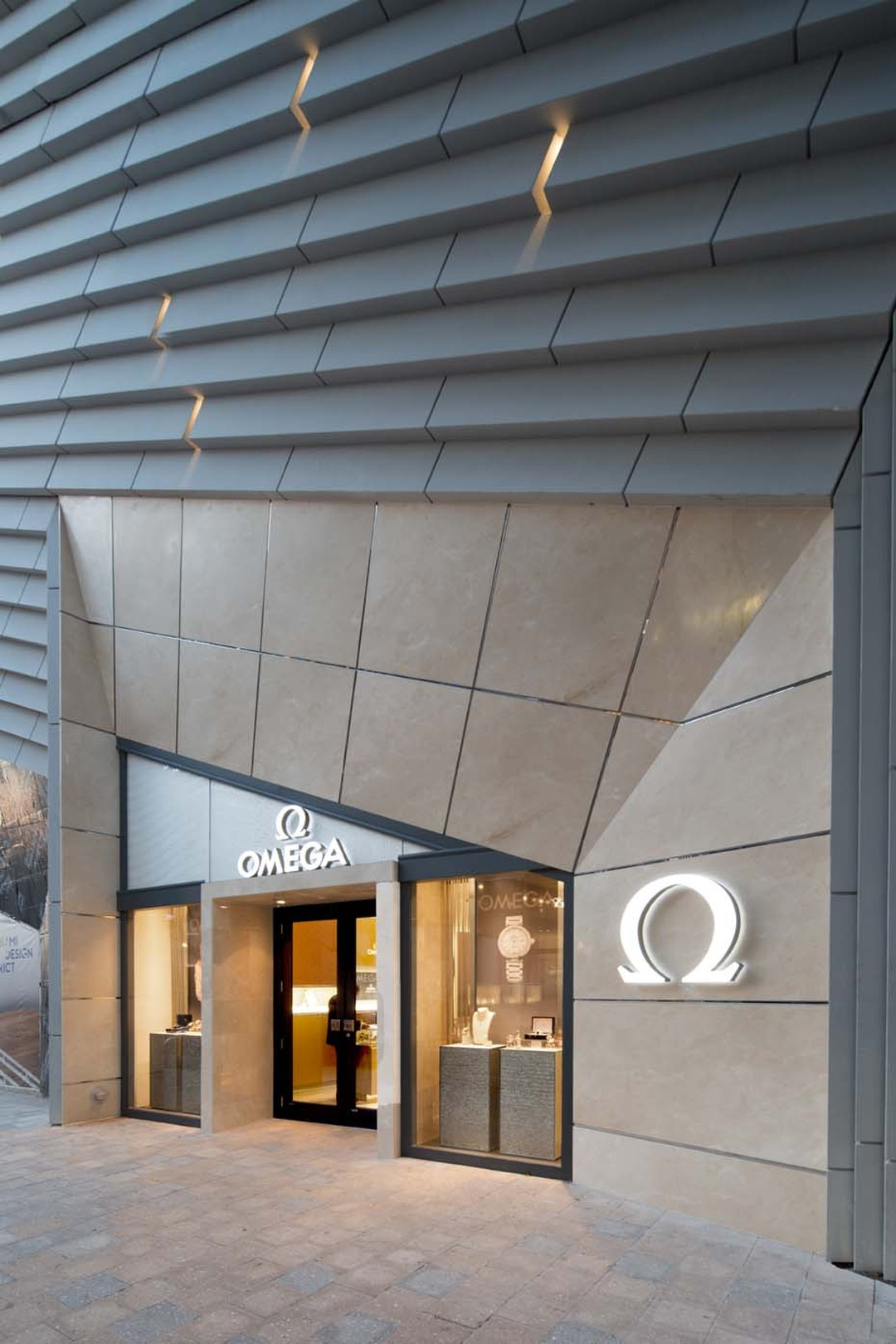 Omega watches, one of the world's most respected watchmaking brands, has one of its five Miami boutiques located within the Miami Design District.