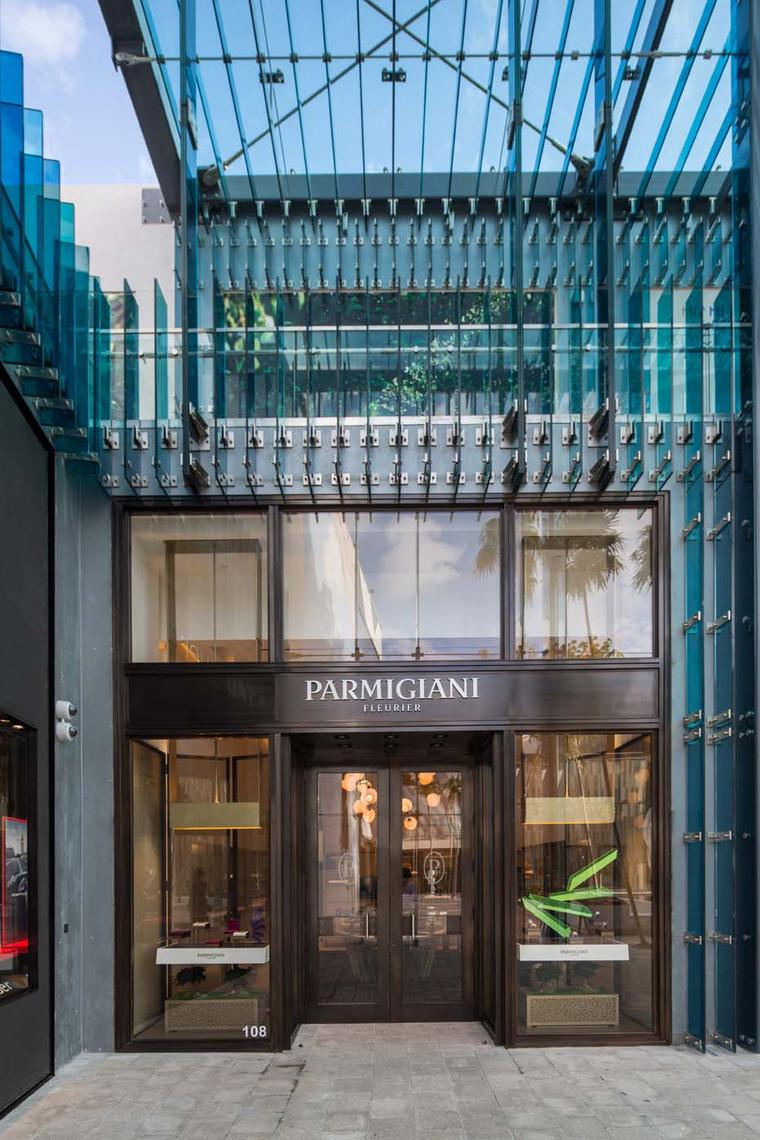 Watchmaker Parmigiani Fleurier is one of the most recent brands to open a boutique within the Miami Design District.