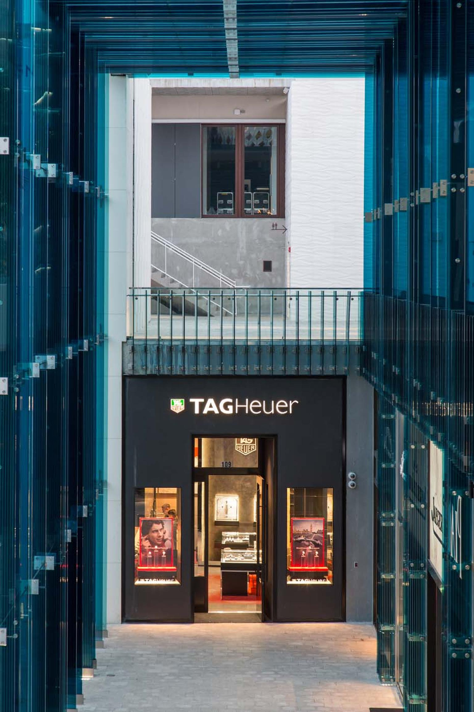 TAG Heuer watches was one of the many brands who decided to relocate or open additional boutiques to ensure its place within the up and coming Miami Design District.