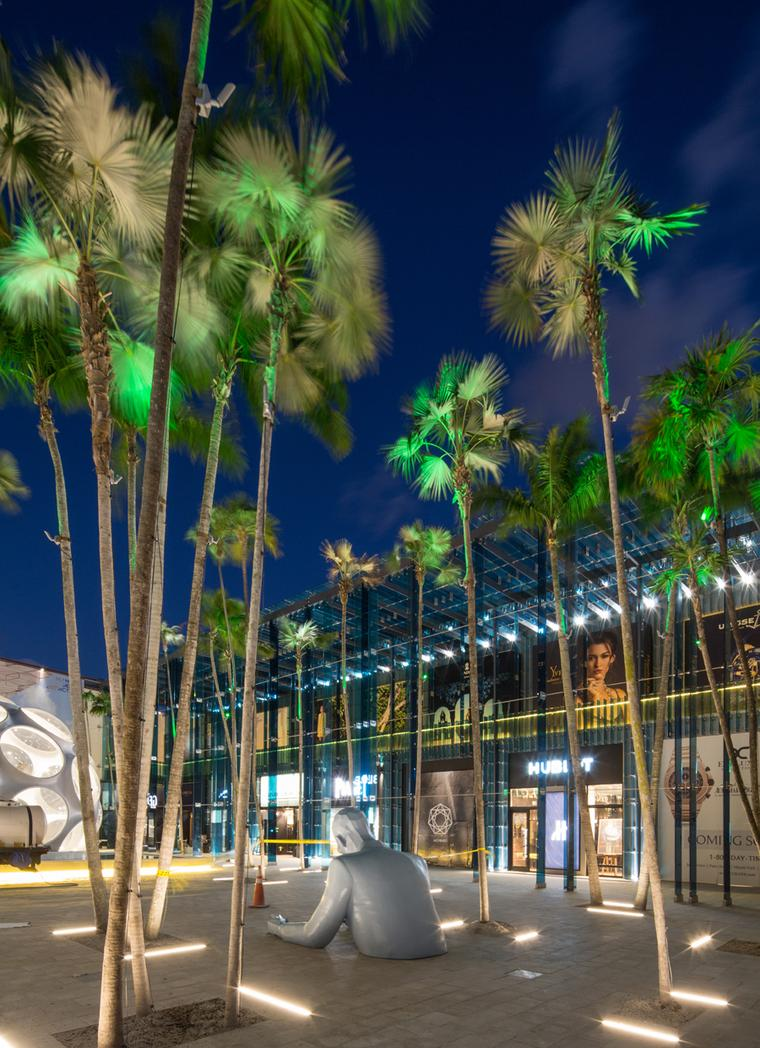 As the Miami Design District continues to evolve, so too will the inclusion of prominent art installations such as the Buckminster Fuller Fly's Eye Dome.