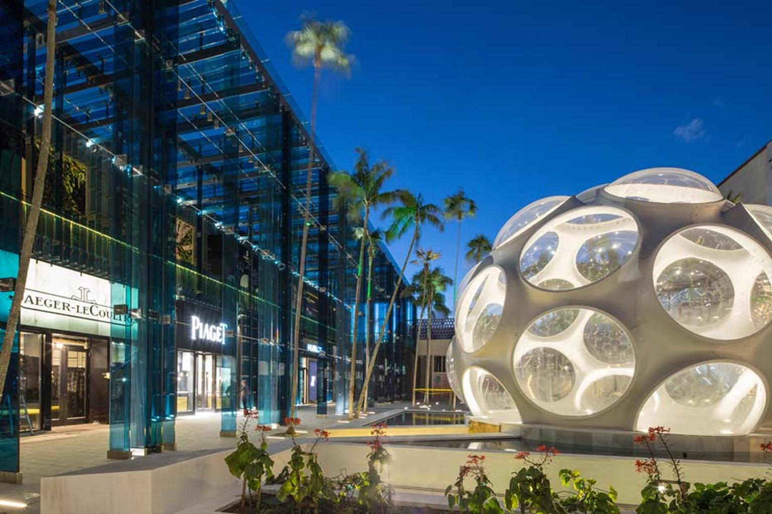 Fifteen years ago entrepreneur Craig Robins, a Miami native, recognized the potential of the Miami Design District and starting procuring properties in the area. Today, it is one of the most up and coming areas and is home to a plethora of top brand names