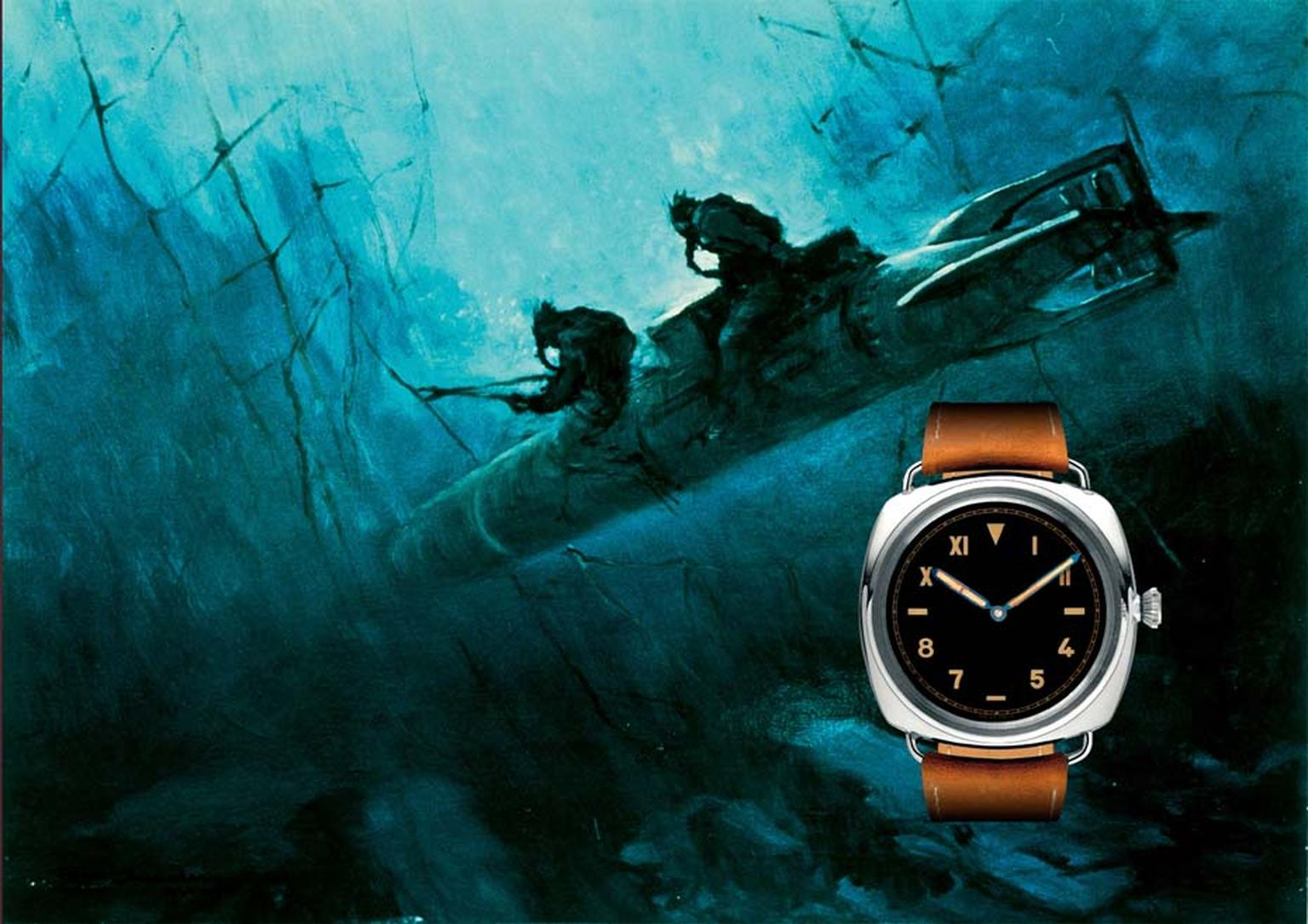 Panerai was the top secret purveyor to Italy's Royal Navy of precision underwater instruments that glowed in the dark. Covert stealth operations included the 1941 Raid on Alexandria in which frogmen mounted on their submersible torpedoes placed limpet min