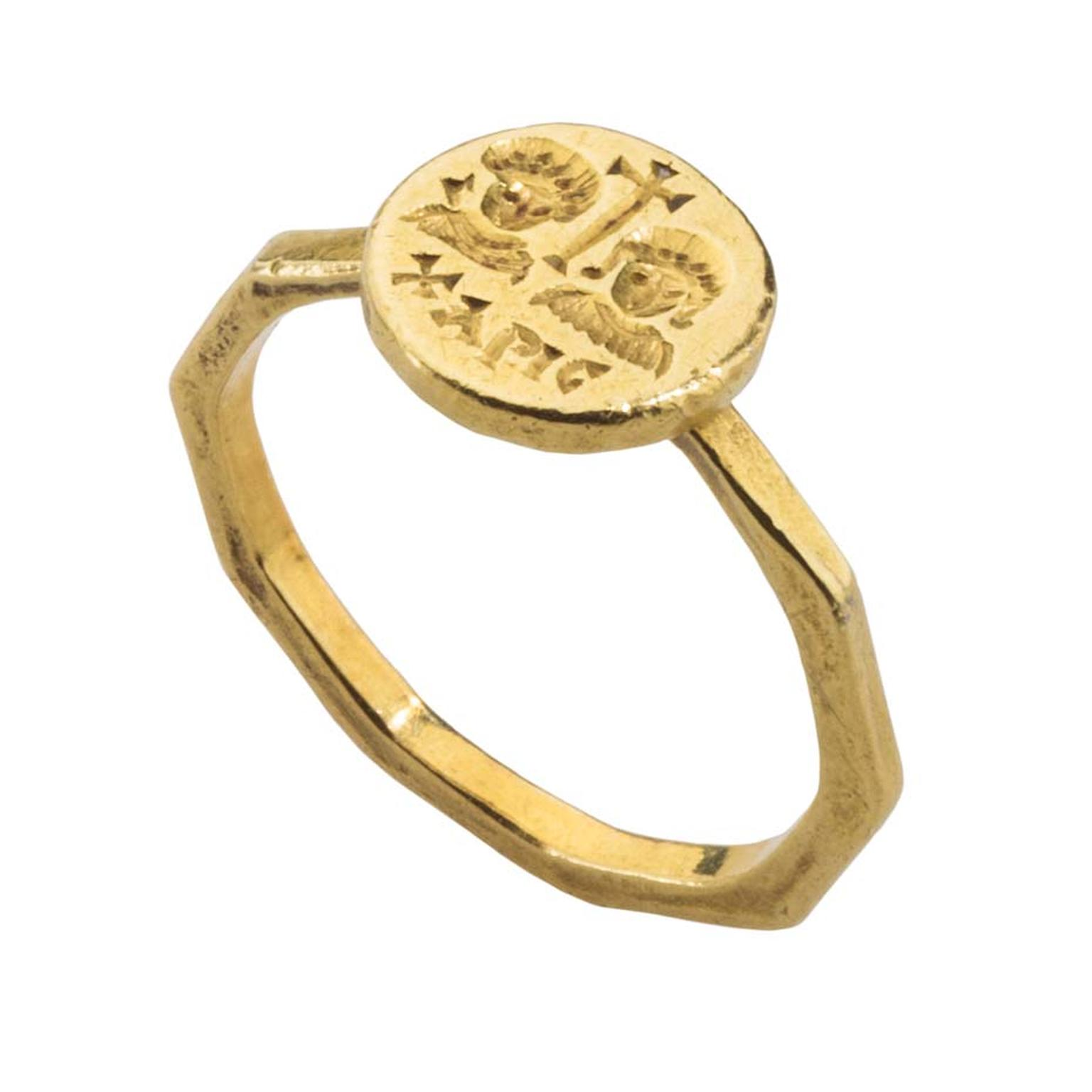 Treasures and Talismans Exhibition_Byzantine marriage ring.jpg