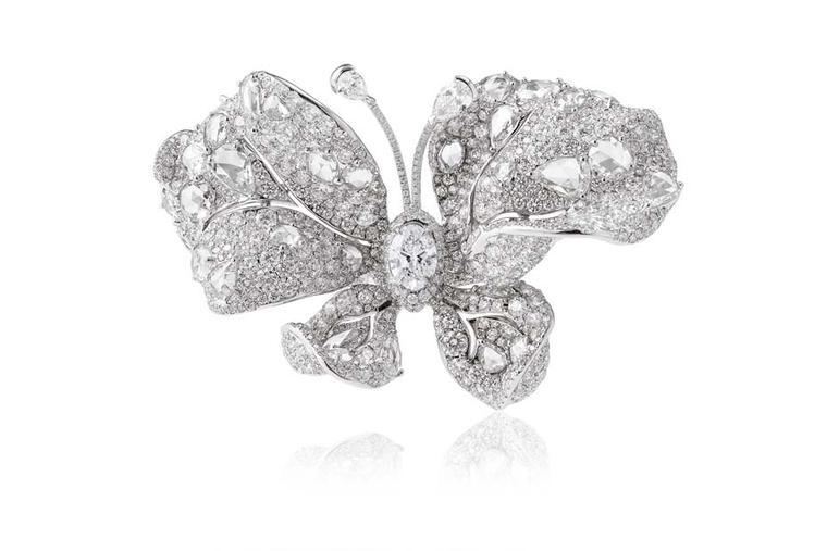 Cindy Chao Winter Butterfly diamond ring