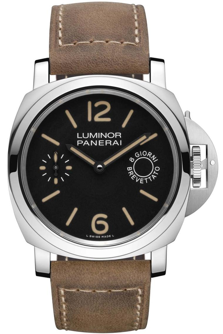 The Panerai Luminor Marina 8 Days Acciaio watch