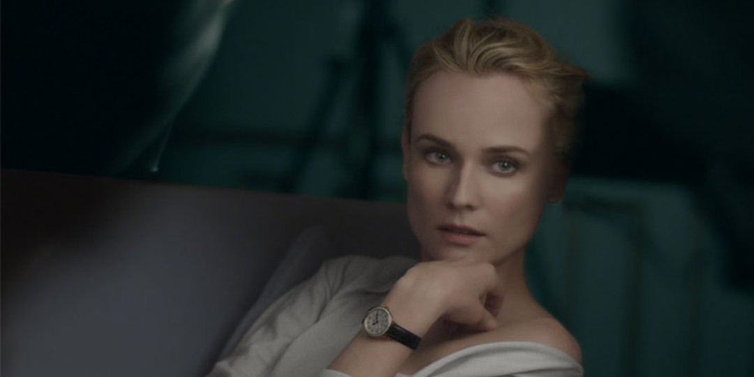 Diane Kruger, the making of Rendez Vous advertising campaign.