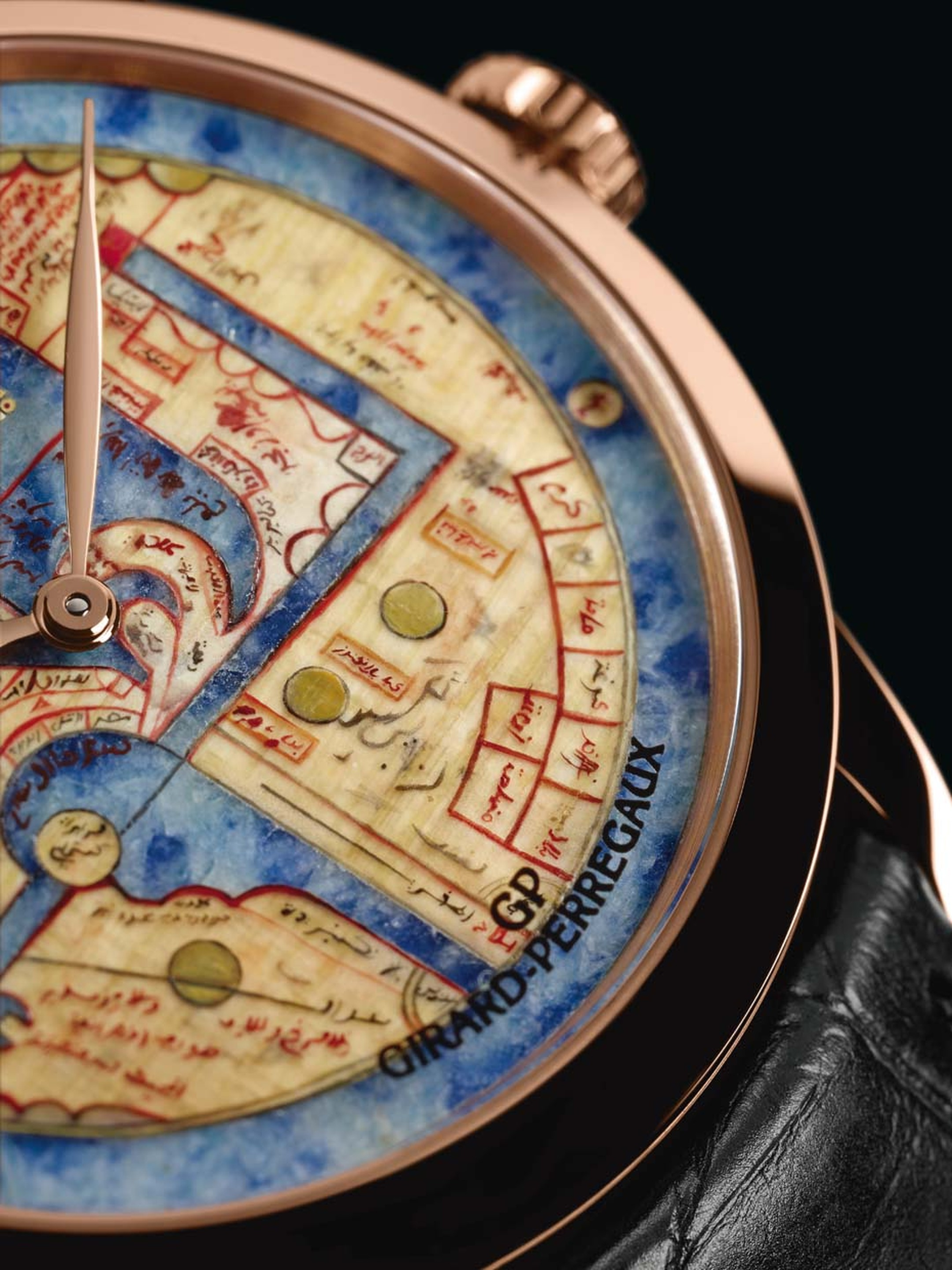Girard Perregaux Map watches_Pearl of Wonders watch_close up.jpg