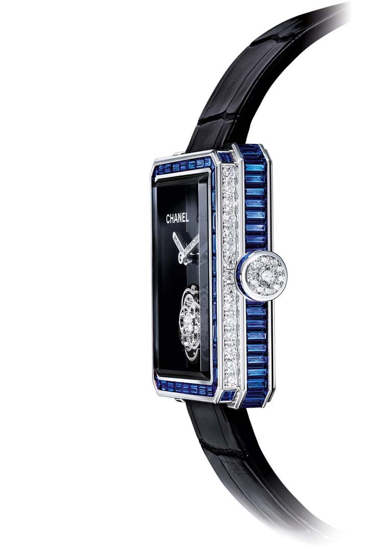 Sapphires turn time-telling into an electric blue experience
