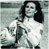 American sex-symbol Raquel Welch in the 1967 film Fathom wore a Breitling Co-Pilot Chronograph for her skydiving stunts.