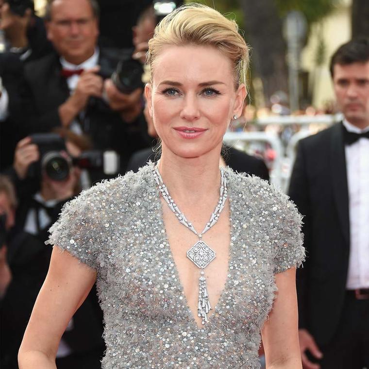 Naomi Watts in Bulgari jewellery