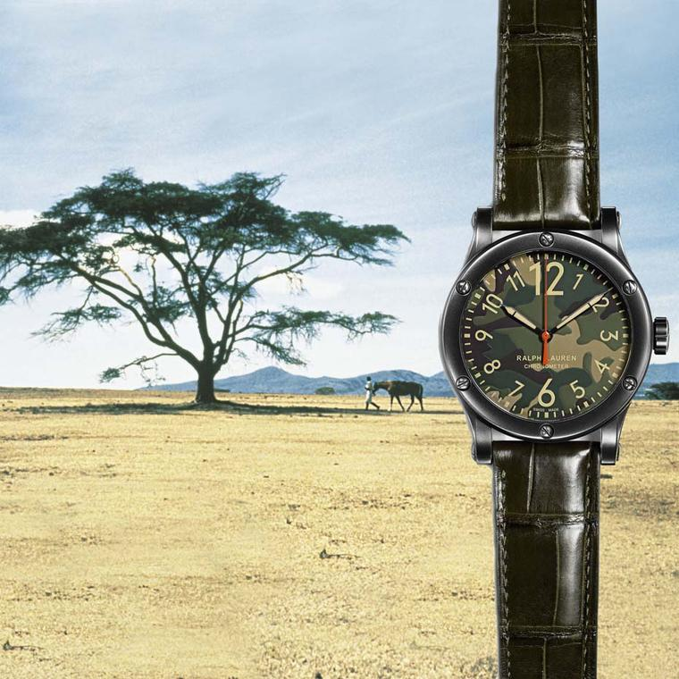 Hunting season for Ralph Lauren Safari watches is now open