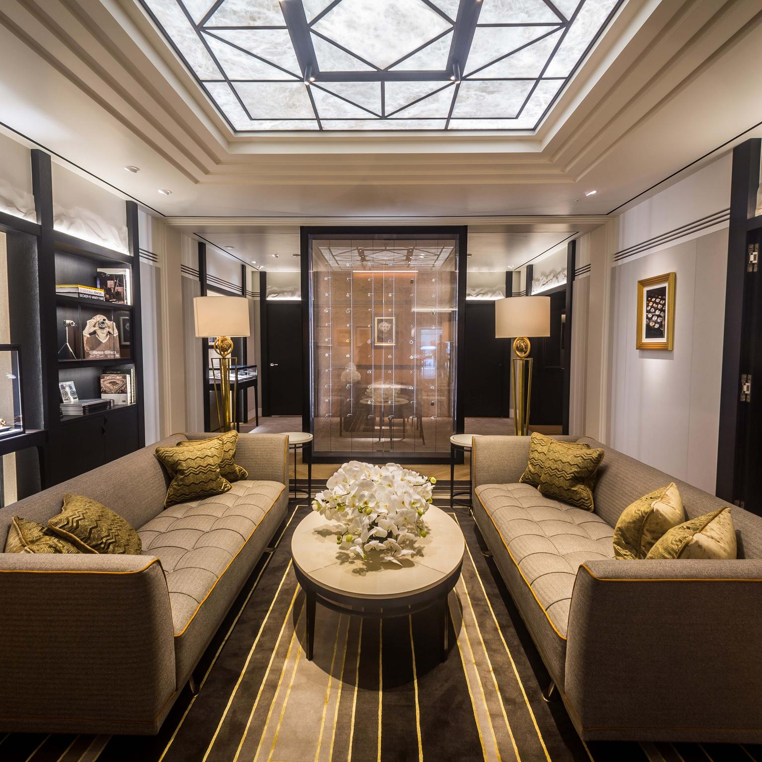 Jaeger-LeCoultre invites visitors to discover its rich universe in the Heritage Room of its new flagship boutique on Old Bond Street in London.