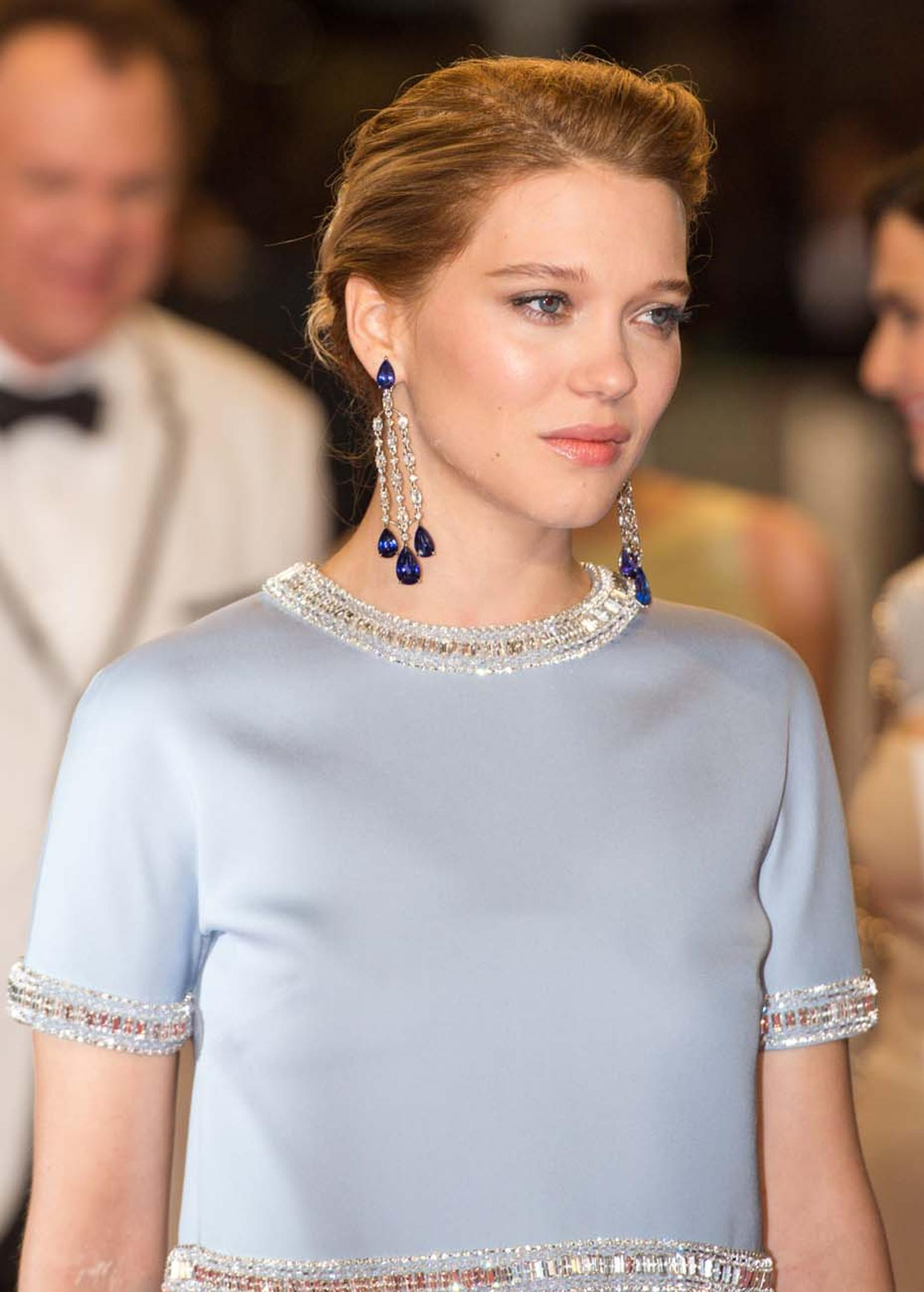 Léa Seydoux in Chopard jewellery
