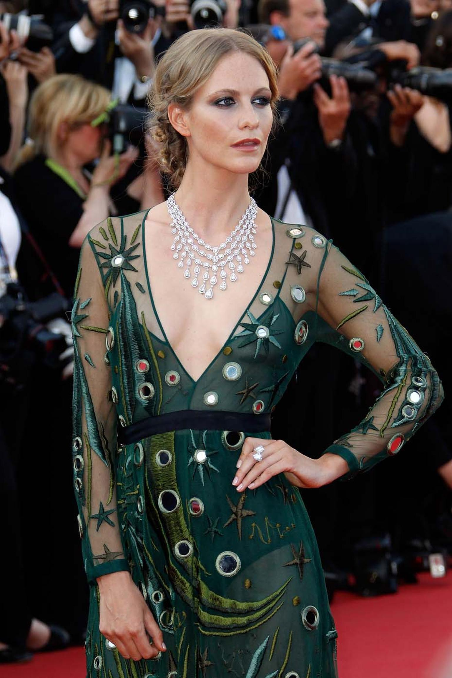Poppy Delevingne in Chopard jewellery