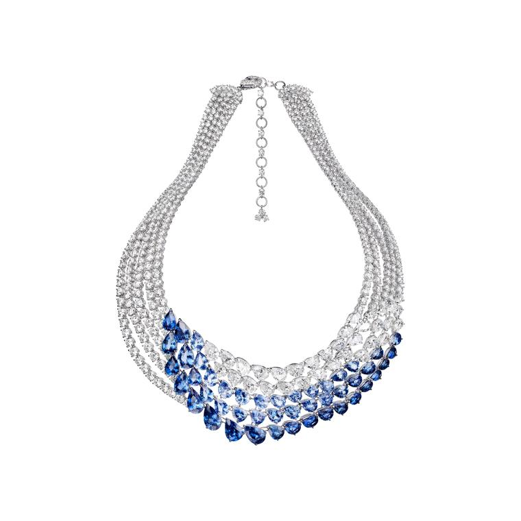 Bird of paradise: Adler's beautiful new L'Oiseau Bleu sapphire and diamond jewels