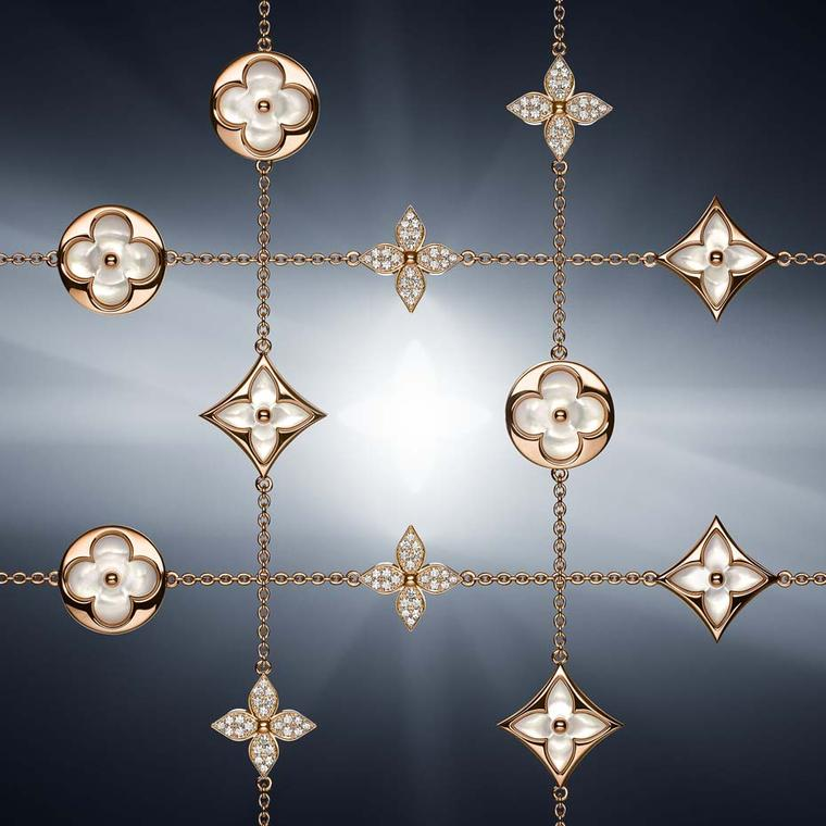 Louis Vuitton's latest collection of Monogram jewellery looks to our celestial neighbours for inspiration